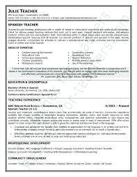 how to say resume in spanish sample of resume resume cover letter teacher  spanish professor resume