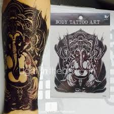 Tetování Samolepky 2015 Nový Přírůstek Ruční Kreslení Elepant Totem Návrh Král Kůň