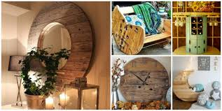 fab art diy repurposed wire spool furniture ideas