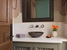 Powder room basins - Traditional Powder Room Annette English
