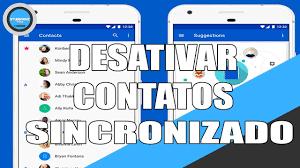 Desativar Sincronização Dos Contatos Da Google Android