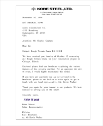 Sample Company Business Letter 9 Examples In Word Pdf