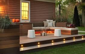 outdoor deck lighting recessed deck lighting fixtures