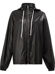 rick owens hooded jacket 09 women clothing leather jackets rick owens drkshdw ramones rick
