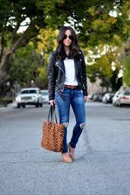 rag and bone jeans aritzia tee zara faux leather jacket similar gap belt j crew leopard tote similar everly pumps