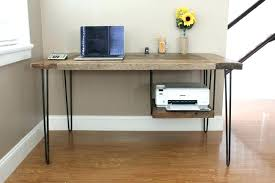 hideaway home office. Home Office Desk Oak Wood B View In Gallery Reclaimed Eton Solid Furniture Pc Hideaway Computer