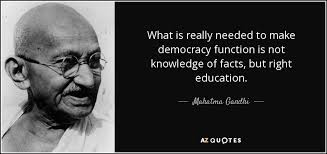 Gandhi Quotes On Christianity Best Of Mahatma Gandhi Quote What Is Really Needed To Make Democracy