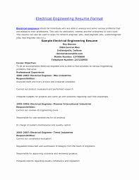 50 Fresh Format Of Resume For Civil Engineer Resume Writing Tips
