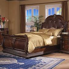 sleigh bed furniture. Davis Direct Coventry Traditional California King Sleigh Bed With Button Tufted Bonded Leather Headboard | Beck\u0027s Furniture Beds N