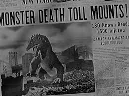 Image result for images of movie the beast from 20,000 fathoms