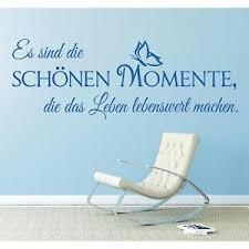 Wandtattoo Spruch Schönen Momente Leben Wandsticker Wandaufkleber