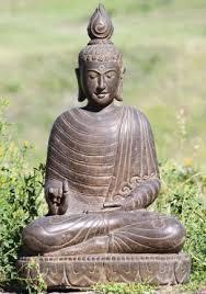 garden buddha. Stone Teaching Garden Buddha Sculpture 28\ A
