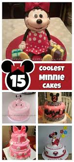 15 Cool Minnie Mouse Birthday Cakes