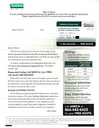 copy of car insurance card with mail that fails amica allstate wal mart bad timing on