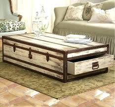 travel trunk coffee table pine chest old cottage steamer uk travel trunk coffee table pine chest old cottage steamer uk