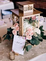 Lantern wedding centerpiece Candle Lantern Rustic Lantern Centerpieces With Flowers The Knot Lantern Centerpiece Ideas