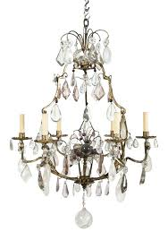 chandeliers rock crystal chandelier french 3 double light gilded uk