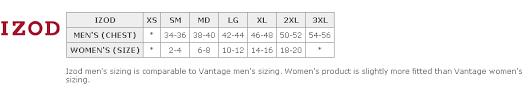 Izod Shorts Size Chart 66 Unique Izod Boys Size Chart
