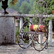 and best of all wrought iron outdoor art is pretty much maintenance free you can set it and forget it