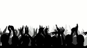 sports fans cheering silhouette. pin audience clipart sport crowd #4 sports fans cheering silhouette o