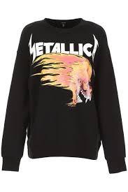R13 Size Chart Metallica Sweatshirt