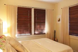 Dressing A Bay Window By Combining Curtains And Roller Blinds Blinds In Bedroom Window