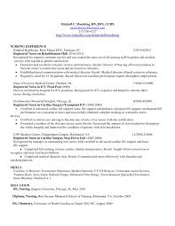 Pacu Nurse Job Description Resume For Study Cover Letter Sidemcic