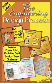 Engineering Design Process Lesson Plan Middle School Engineering Design Process Lesson Middle And High School