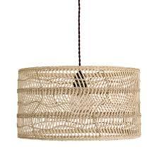 hk living wicker pendant lamp