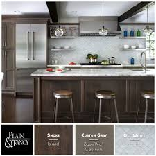 contemporary kitchen colors. This Kitchen Color Palette Mixes Warm Gray Stains And Stainless Steel Accents For A Warmed Up Contemporary Colors .