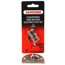 Janome 1600 Series Convertible Free Motion Quilting Foot Set at ... & Janome 1600 Series Convertible Free Motion Quilting Foot Set Adamdwight.com