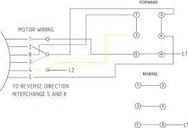 wiring diagram reversible single phase motor wiring diagram with how do you reverse a single phase motor at Wiring Diagram For Forward Reverse Single Phase Motor