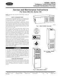 Blinking Yellow Light On Carrier Furnace Carrier 58sma Instruction Manual Manualzz Com