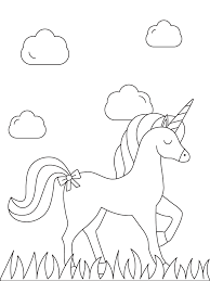 Unicorns are legendary creatures that originated from the traditional european folklore. Free Printable Unicorn Coloring Pages Parents