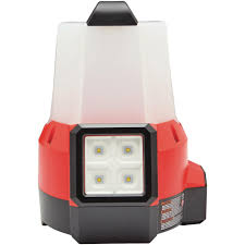 M18 Compact Site Light Milwaukee M18 18 Volt 2200 Lumens Cordless Radius Led Compact Site Light With Flood Mode Tool Only