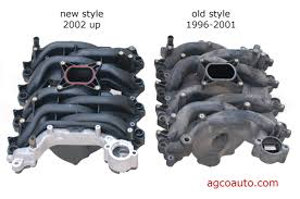 agco automotive repair service baton rouge la detailed auto the new and old style intake manifolds for the 4 6l ford engine