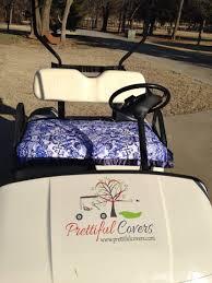 Golf Cart Seat Cover Pattern Amazing Decorating Design