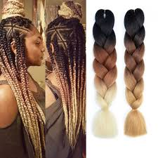 Ombre Braiding Hair Color Chart 24 100g Pc Synthetic Ombre Braiding Hair Crochet Jumbo