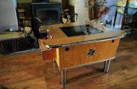 oak arcade table galaxian