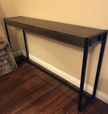 furniture industrial style. Amazing Industrial Style Console End Table Modern Wood Metal Furniture Tables Remodel