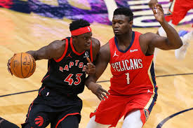 Cameroonian forward pascal siakam has been loyal to kevin durant's signature line since his rookie. Houston Rockets Is Pascal Siakam Enough Of A Return For James Harden