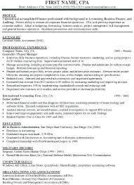 Free Accounting Clerk Resume Sample Samples Of An Senior Accountant