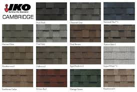 Shingle Color Chart Iko Cambridge Colors Inmotionstudio Com Co