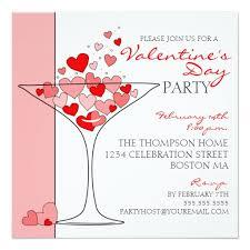Valentines Invitations Valentine Party Heart Love Cocktail Invitation Square Invitation Card