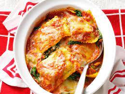 spinach ravioli bake recipe how to