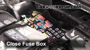 replace a fuse 2009 2016 ford flex 2013 ford flex limited 3 5l 6 replace cover secure the cover and test component