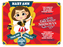 Birthday Invitation Pictures Unique The Greatest Showman Birthday Invite By Curt R Jensen Dribbble