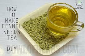 fennel seeds tea
