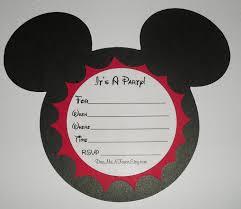 diy mickey mouse birthday invitations diy projects ideas mickey mouse clubhouse birthday party invitation wording