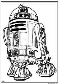 Small Picture R2 D2 star wars coloring page
